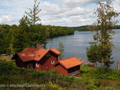 Holiday on a listed property at Helgasjön in Småland