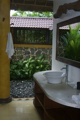 Sanur house photo - Large indoor/outdoor master bathroom.