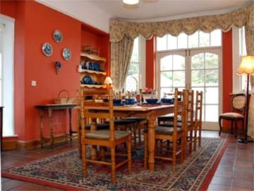 Dining Room St.Anne's suitable to seat 8 guests.