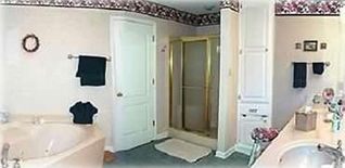 Hot Springs Village house photo - Master bath with jetted tub, walkin shower, double sinks, toilet