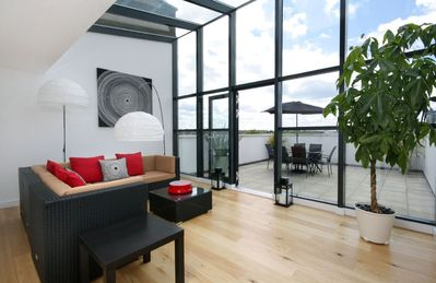 Putney & Wandsworth apartment rental - sun lounge
