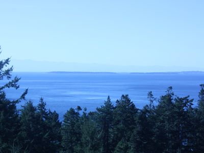 View from your deck looking toward Vancouver Island Victoria BC
