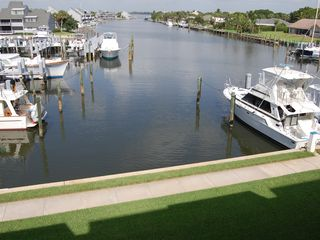 Vero Beach condo photo - Balcony off Living Room direct harbor view