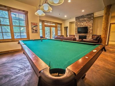Pool Table (Lower Level)