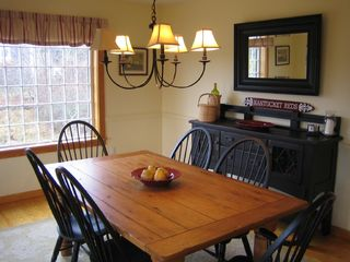 Miacomet Pond house photo - dining room