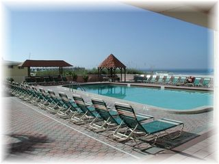 Indian Shores condo photo - Oceanfront pool
