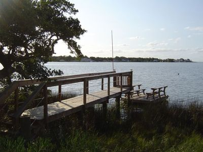 Private Pier and floating dock