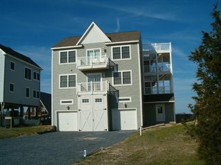 Broadkill Beach house photo - Ample parking, front of house faces preserve