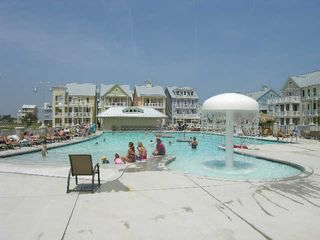 Sunset Island Ocean City house photo - Pool area