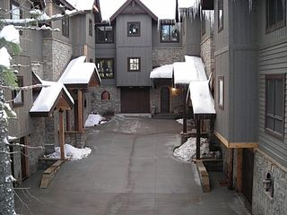 Whitefish townhome photo - Exterior Winter