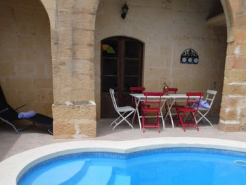 Late Availability 1st to 7th Sept. Beautiful renovated stone villa with pool