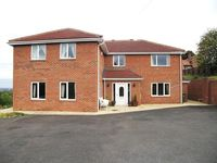 Luxury house with swimming pool, cinema room and large decking area