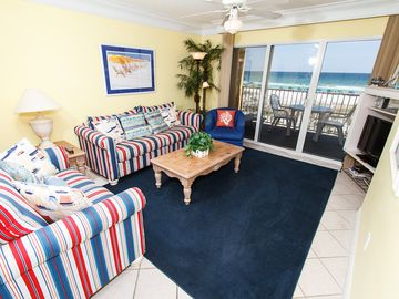 Fort Walton Beach condo rental - Living Room - Check out the view from this 3rd story condo!