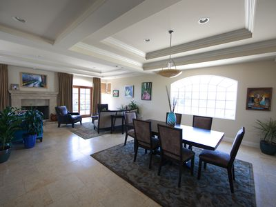 Marina del Rey house rental - Dining room/Living room