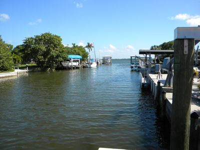 Canal to Lemon Bay