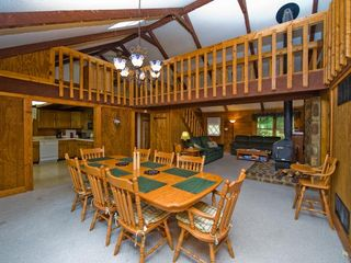 Massanutten lodge photo - Dining Room with open floor plan seats 10
