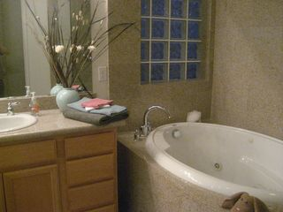 Indio house photo - Master Bathroom relaxing spa tub