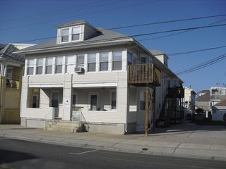 Front view; condo is on the right side, 2nd floor - Wildwood condo vacation rental photo