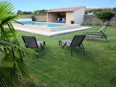 House of Provence with swimming pool and large shaded ground