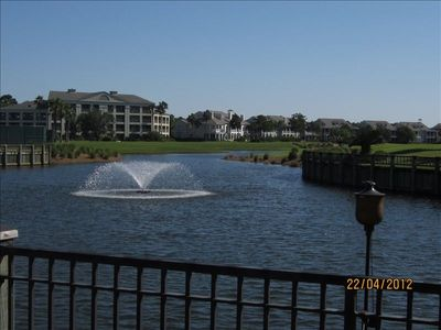 Gulf Shores condo rental - view of condo from Peninsula Golf Club House