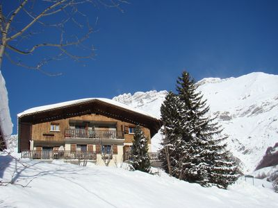 Apartment south, in chalet, ski, Whirlpool, parking