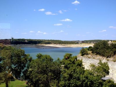 250' of Deep Lake Travis Shoreline--Great Location!!