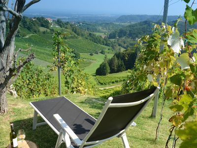 ... Quiet moments and a special view for the discerning connoisseur,  - Weinberghaus