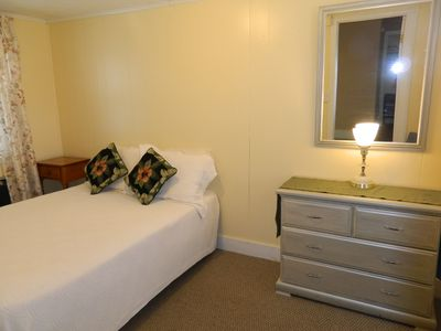 Second bedroom with 1 double bed.
