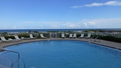 One of two oceanfront pools with gorgeous views. Relax to the sound of the waves