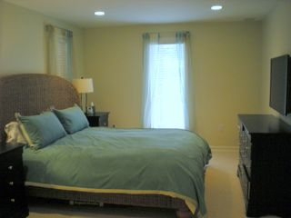 Harborton house photo - Master Bedroom: King bed, TV, DVD, Full bath w/ shower and oversized tub.