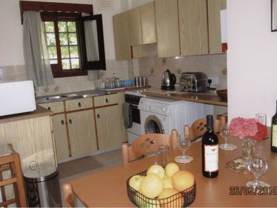 Pissouri Village villa rental - Kitchen/Dining area