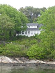 Boothbay cottage photo - Arrowhead Cottage from the water