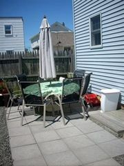Seaside Park apartment photo - Patio for Downstairs Rental