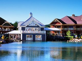 Collingwood cottage photo - View of Resort from Lake at the Club Intrawest Blue Mountain Resort