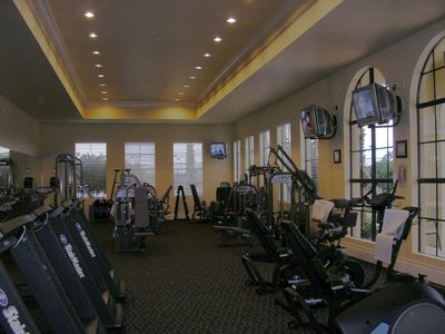 Nokomis villa rental - State of the art gym