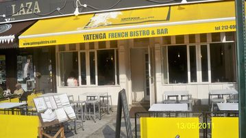 Yatenga French Bistro in walking distance.