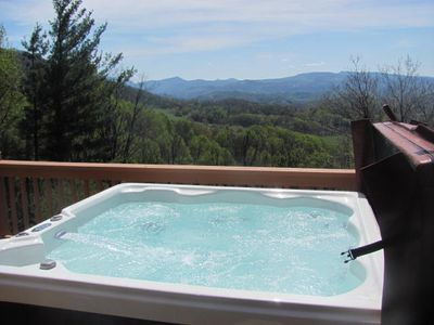 Hot Tub with the best views in the High Country!!