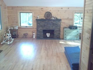 Woodstock cabin photo - Living room, mat for children to play on