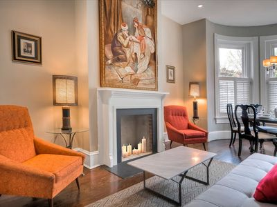 Glamorous DuPont Circle Duplex, Heart of Embassy Row!