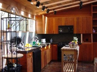 Big Sur house photo - Kitchen inc all appliances and Breakfast
