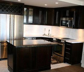 Waikiki condo photo - Gourmet Kitchen with Marble Countertops
