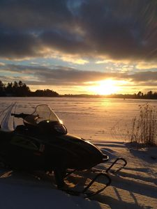 Access to 450 miles of groomed snowmobile trails directly from our property