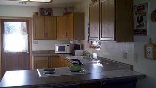 Flagstaff cabin photo - Large kitchen with new serveware