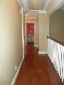 Upstairs Hallway leading to 4 bedrooms