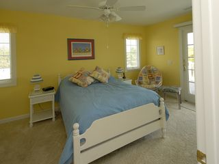 Bethany Beach house photo - 2nd Floor Yellow Room w/ Deck