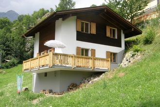 A chalet in a quiet location, in Fieschertal, with lovely views.