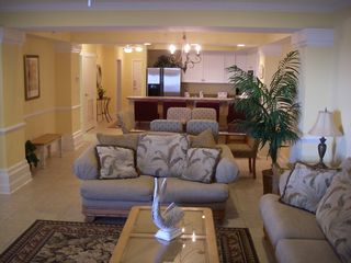 Isle of Palms condo photo - Spacious Comfortable Living Room For Everyone