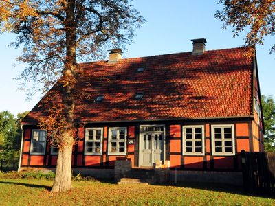 Holiday in a historic ambience, near the beach with sauna and large garden