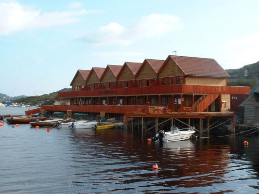 Beautiful apartment for 4 people on the island of Sotra in the Hordaland region