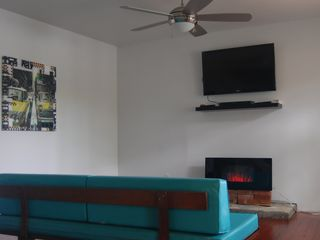 Copake house photo - Relax in front of the Flat panel 3D TV